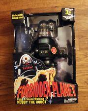 Robby The Robot Figure: Forbidden Planet: Walmart Exclusive: walking light sound