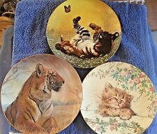 Beautiful Cats Collector Plates