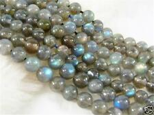 "New 4mm NATURAL Labradorite Round Gems Loose Beads 15"" AA"
