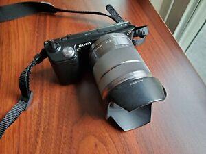 Sony Alpha NEX-5 16.1MP Digital Camera - Black w/ 18-55mm 3.5-5.6 Lens