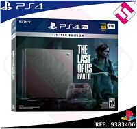 PS4 PLAYSTATION 4 PRO 1TB THE LAST OF US PARTE 2 EDICION LIMITADA COLECCIONISTA