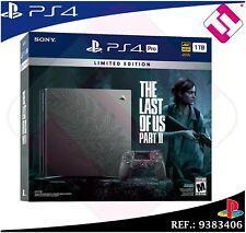 PS4 PLAYSTATION 4 PRO 1TB THE LAST OF US PARTE 2 EDICION LIMITADA COLECCIONISTA