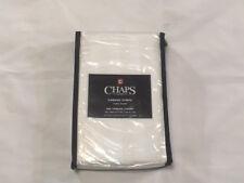 Chaps Home 500 Thread Count Euro Pillow Sham - Damask Stripe White