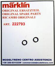 MARKLIN 222793 CERCHIATURE ADERENZA - HAFTREIFEN -  RUBBER TIRES  (2 ST.)