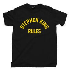 Stephen King T Shirt Misery Pet Sematary Dead Zone Green Mile Shawshank Cujo Tee