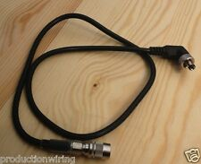 4 Pin Hirose Power Cable Locking DC Lead for Lectrosonics IFB4T