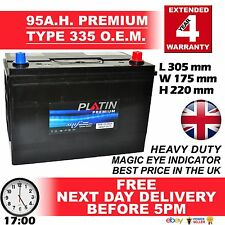 249 LION 335 Car Battery fits many Hyundai Kia Lexus Mazda Mitsu Nissan Toyota