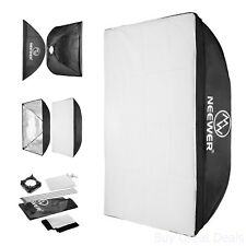 45 Cm approx. 45.72 cm 18 in Fotografía Video Luz Softbox Difusor Plegable Blanco