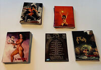 Visions Of Vampirella 1-90 1995 Trading Cards Red Foil Full Set Great Condition