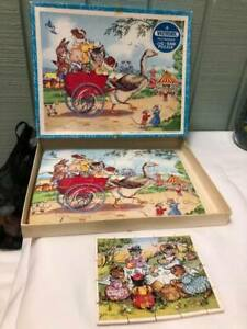 Vintage Victory Wood Jigsaw Puzzle by GJ Hayter Anthropomorphic + Farrar Puzzle