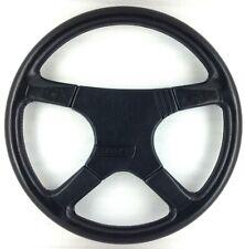 Genuine Momo Sport Jaguar 380mm black leather steering wheel. RARE! 7C