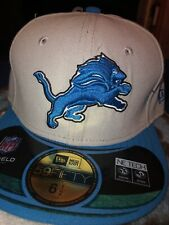 NFL Detroit Lions KIDS Fitted Hat 6 1/2 New Era Cap