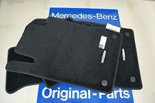Mercedes Benz CL550 CL500 CL63 AMG CL C216 Black Carpet Floor Mats 66393302 OEM