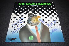 "THE NIGHTHAWKS signiert signed Autogramme auf ""Skank It Up"" Platte LOOK"
