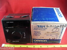 Omron E5H5-R40J-100 Temperature Controller Temp 32-400 400 F Digital Display New