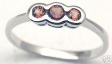 Natural Gorgeous Pink Tourmaline Silver Ring S 7.25 #304