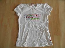 Room Seven bonito camisa con presión y encaje blanco talla 128 top kj1