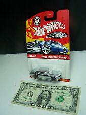 Hot Wheels Modern Classics Spectraflame Chrome Dodge Challenger Concept #14 2008