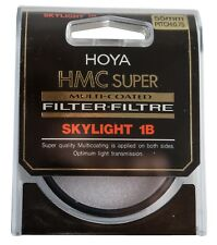 Nuevo Genuino HOYA 55 mm Skylight 1B Super HMC Multi-Coated Filter Glass
