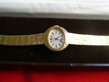 Vintage Girard Perregaux Gold Plated Ladies watch working well