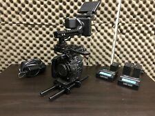 Canon C500 + Cage + Batteries + Charger + Extras