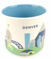 Star Bucks Mug Denver You are Here Collection Like New