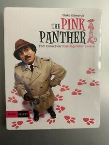 The Pink Panther Film Collection (Blu-ray Disc, 2017, 6-Disc Set) Peter Sellers