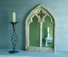 GOTHIC MIRROR STDL, stone effect, great vintage style 39 CMS HIGH