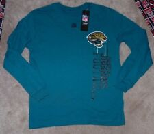 05e5c37c0 NEW NFL Jacksonville Jaguars Long Sleeve L S T Shirt Youth Boys M 10 12 NWT