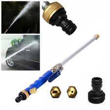 "18"" Aluminium High Pressure Car Washer Spray Nozzle Water Gun Hose w/Tips Hot"