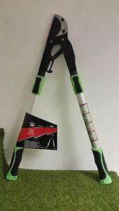 Heavy Duty Professional Telescopic Ratchet Loppers Long Reach Tree Pruners
