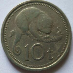 Papua New Guinea 1976 10 Toea coin