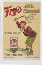 FRY'S MILK CHOCOLATE: advertising postcard (C29910)
