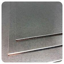 Stahlblech verzinkt 0,7mm 1mm 2mm 3mm Feinblech Platte Blech Metall Zuschnitt