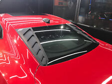 K-Speed Rear Window Louver Cover Sun Shade Rain Guard For 2016-18 Chevy Camaro