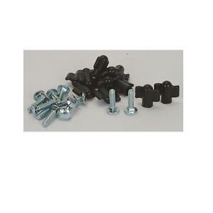 Pet Carrier Fasteners - 12 pkg - Vari Kennel Replacement Bolts