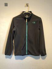 The North Face Boy's Fleece Jacket Size Large 14-16 Gray Blue Lightweight EUC