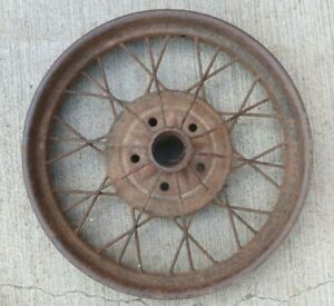 "Early 1928 AR Model A Ford 21"" inch WIRE SPOKE WHEEL Original 5 lug +-"