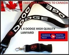 DODGE Lanyard  Neck Car Key Chain Cell iPhone Strap Release Rope RAM Avenger