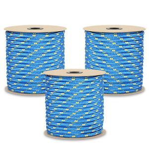 Polypropylenseil - Blau PP Seil 3mm-16mm Flechtleine Tauwerk Polypropylen