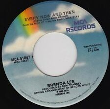 "BRENDA LEE - Every Now And Then  7"" 45"