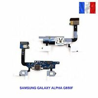 NAPPE CONNECTEUR DE CHARGE + MICRO  Samsung Galaxy Alpha SM-G850F G850F G850(16)