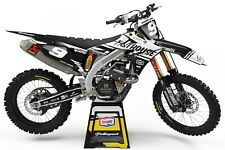 Graphics Kit to fit: Suzuki RM RMZ 85 125 250 450 models 1996-2020