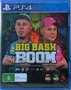 Big Bash Boom PS4 Brand New and Sealed