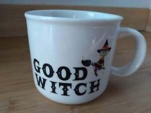 Halloween Good Witch 15oz. White Stoneware Mug