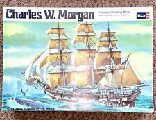 Vtg 1968 Charles W Morgan Historic Whaling Ship Plastic Model Kit Unassembled