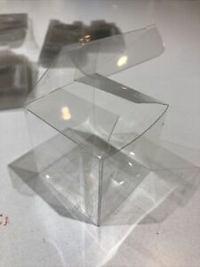 48 Acetate Cube Box Presentation Boxes for Gifts or Baubles 5cm