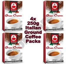 4x 250g (1kg total) ITALIAN GROUND COFFEE PACKS FOR ALL COFFEE MAKERS