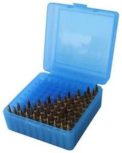 MTM RS-100-24 AMMO BOX 17 FIREBALL 223 REM 300 BLK 100 ROUND CASE GARD - NEW