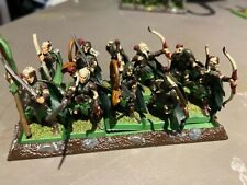 10x Wood Elves Elf Aelves Wanderers Archers Glade Guard Warhammer AoS Fantasy